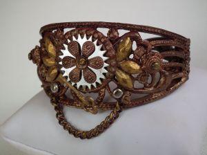 Steampunk bracelet 1