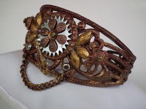 Steampunk bracelet 3