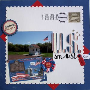 US Smallest Post Office