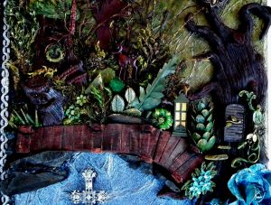 Fantasy Mixed Media Canvas 5