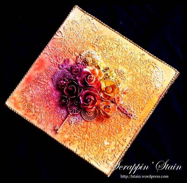 Golden Flowers1