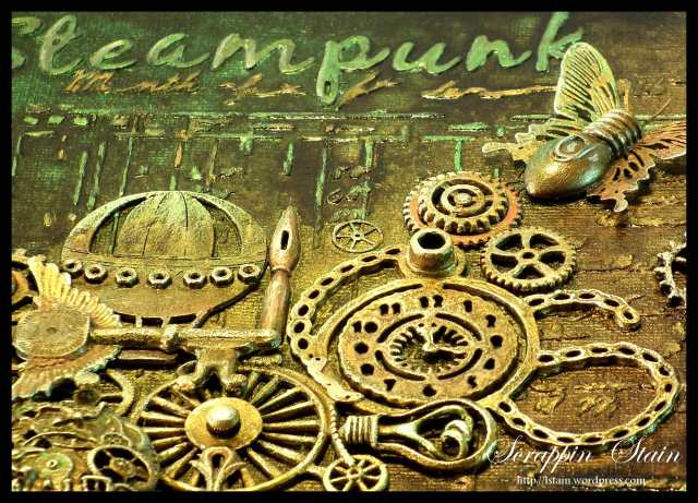 Steampunk Explosion 1